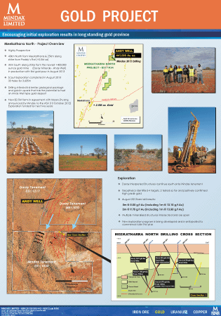 Meekatharra North Project - Click for more detail